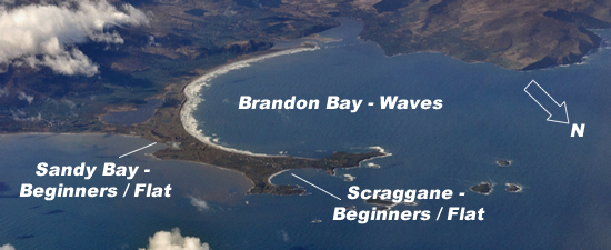 Brandon Bay Map